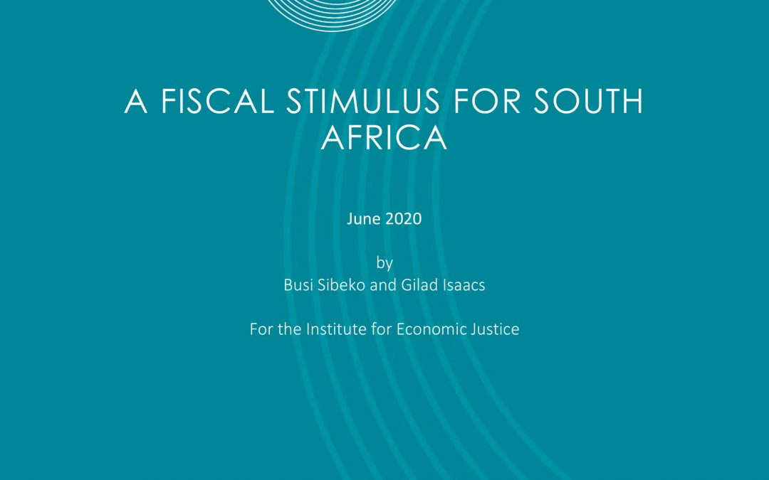 A Fiscal Stimulus for South Africa