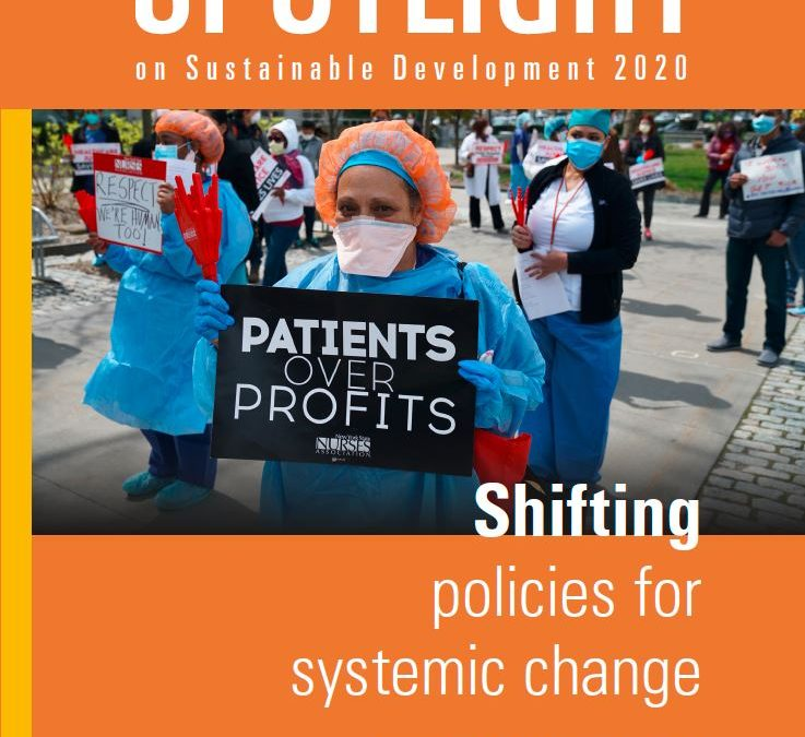 Spotlight on Sustainable Development 2020: Shifting policies for systemic change
