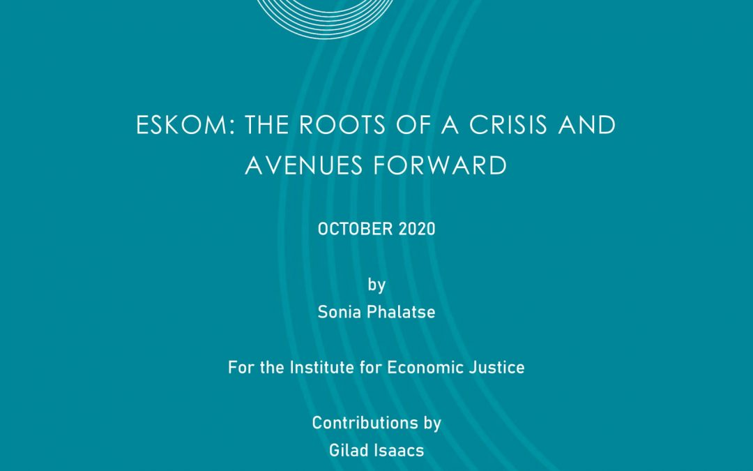 Eskom: The Roots Of A Crisis And Avenues Forward