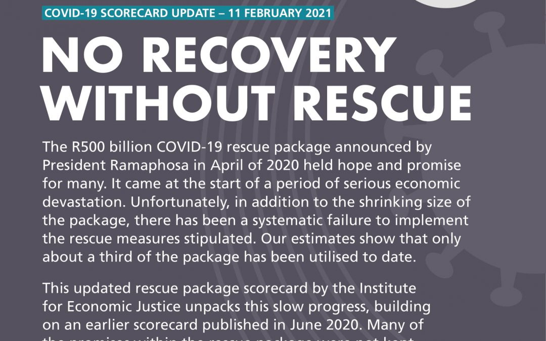 No Recovery Without Rescue: COVID-19 Scorecard Update